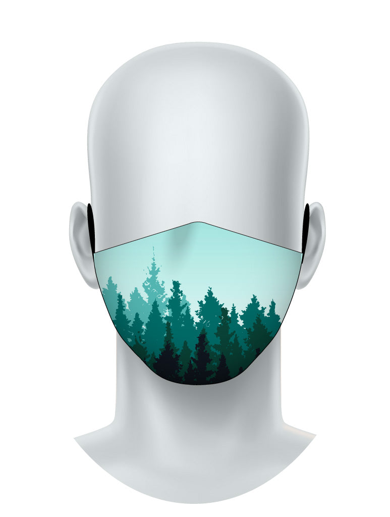 Serene Forest Face Mask