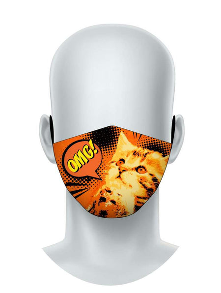 OMG! Kitty Face Mask