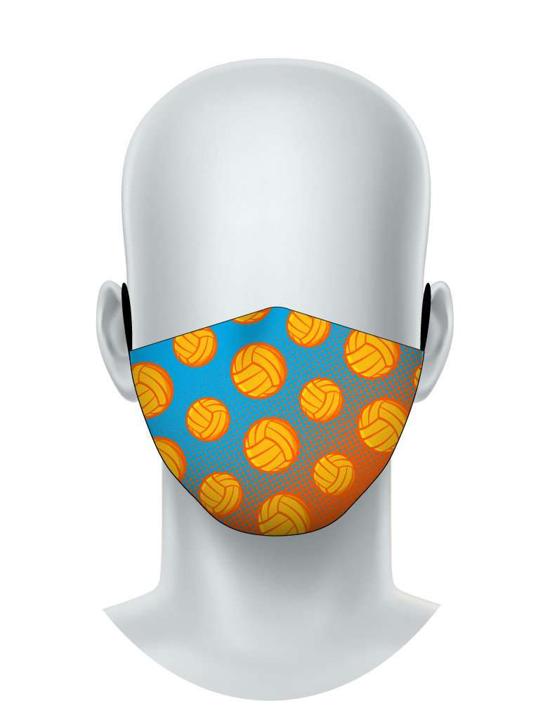 Water Polo Balls Face Mask