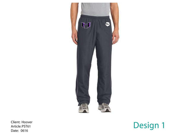 Hoover HS Swim Team Men's Wind Pant