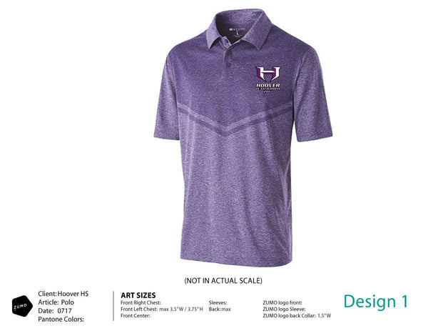 Hoover HS Water Polo Men's Polo Shirt
