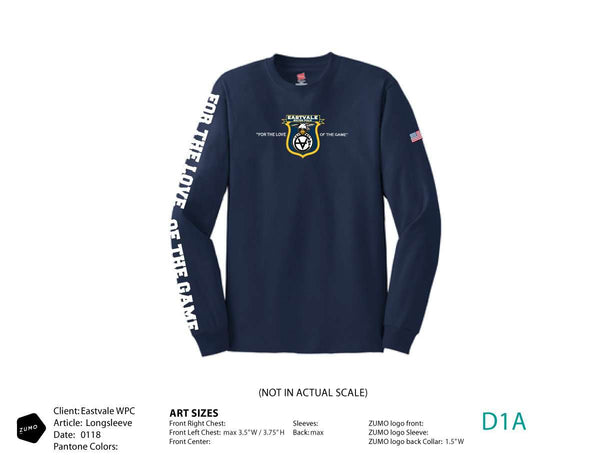 Eastvale WPC Long Sleeve T-Shirt
