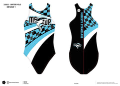 Modesto Stanislaus Water Polo Women's Classic Water Polo Suit