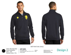Mountain View HS Swim Team Men's Fleece Jacket