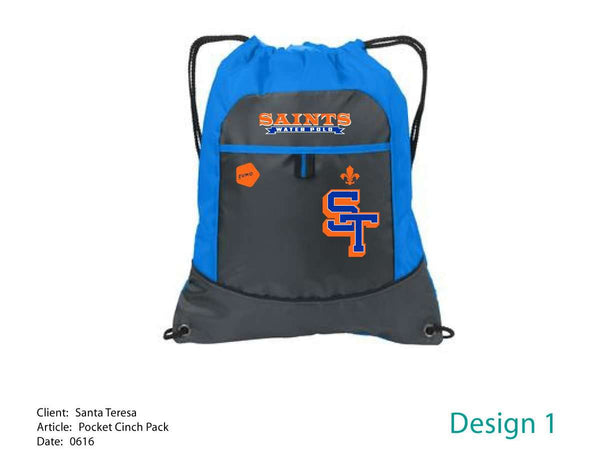 Santa Teresa H.S Cinch Bag