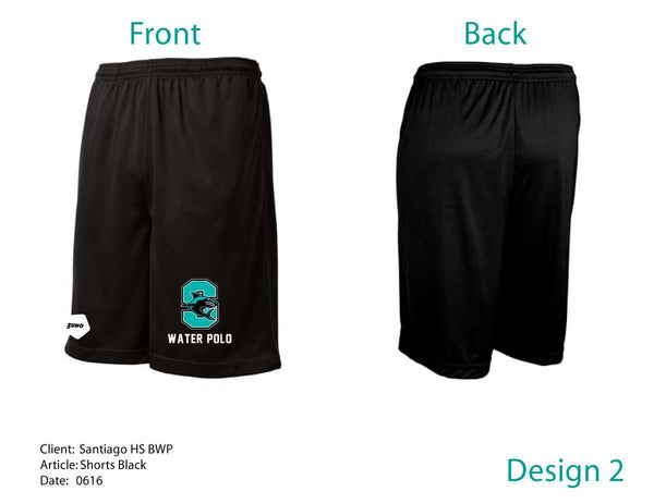 Santiago High School Men's Workout Shorts (Mandatory)