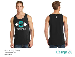 Santiago High School Men's Tank Top