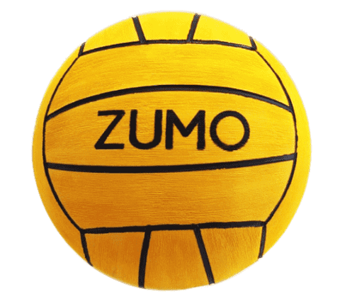 Zumo Size 4 Training Water Polo Ball