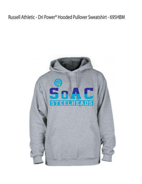 SOAC Water Polo Pullover Hooded Sweatshirt