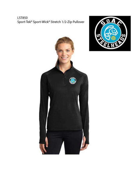 SOAC Water Polo Women's 1/2 Zip Pullover