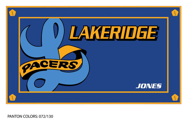 Lakeridge HS Water Polo Team Towel (Custom Name Option)