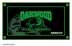Oakwood Athletic Club Team Towel (Custom Name Option)