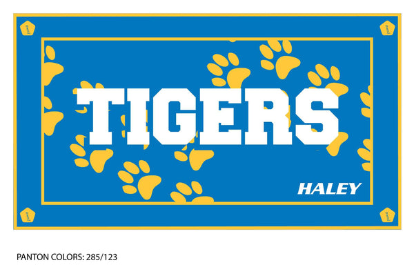 Valencia HS Boys Swimming Team Towel (Custom Name Option)