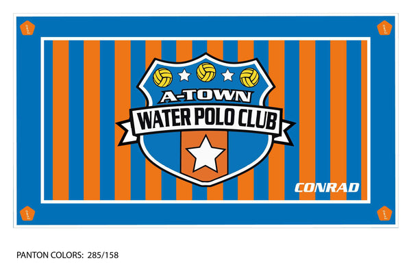 A Town WPC Team Towel (Custom Name Option)