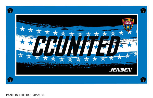 CC United Team Towel (Custom Name Option)