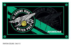 El Camino HS Water Polo Team Towel (Custom Name Option)