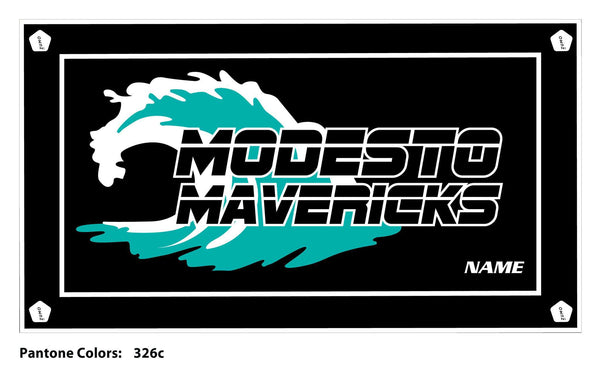Modesto Mavericks Swim Team Towel (Custom Name Option)
