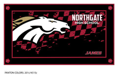 Northgate HS Swim Team Team Towel (Custom Name Option)