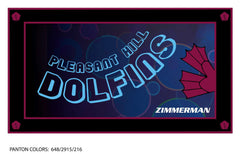 Pleasant Hill Dolfins Team Towel (Custom Name Option)