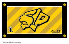 San Luis Obispo HS Swimming Team Towel (Custom Name Option)