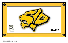 San Luis Obispo High School JV Team Towel (Custom Name Option)