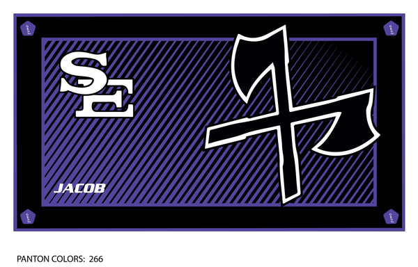 South Eugene HS Water Polo Team Towel (Custom Name Option)