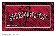 Stanford Water Polo Club Team Towel (Custom Name Option)