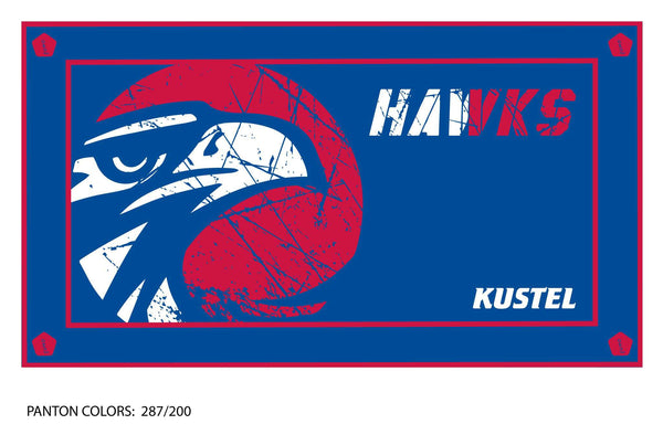 Tamalpais HS Boys Water Polo Team Towel (Custom Name Option)