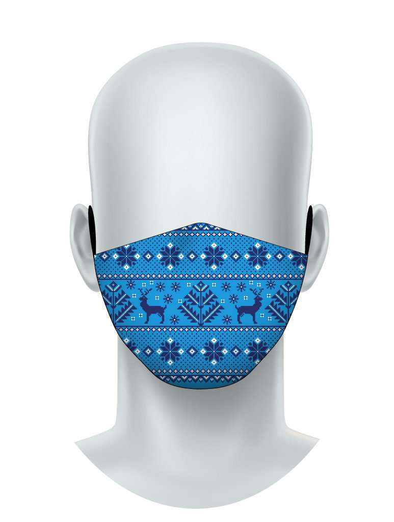 Fair Isle Sweater - Face Mask