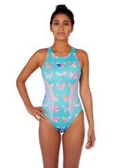 Butterfly Women's Euro Water Polo Suit Front