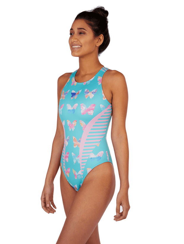 Butterfly Women's Euro Water Polo Suit