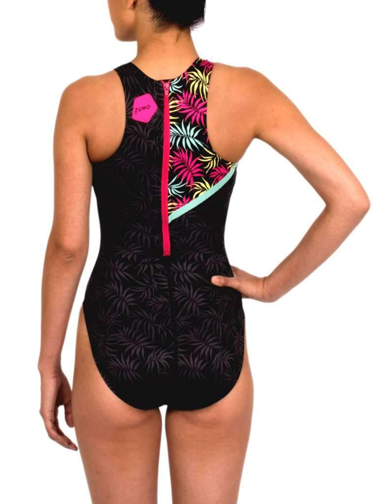 CALI Women's Classic Water Polo Suit Back
