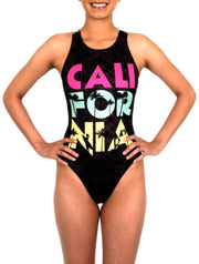 CALI Women's Classic Water Polo Suit Front