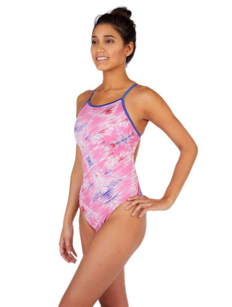 Desert Dreams Pinto Cut-Out Tank Soft Pink Front