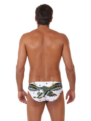 Eagle Tattoo Original ZUMO Swim Brief Back