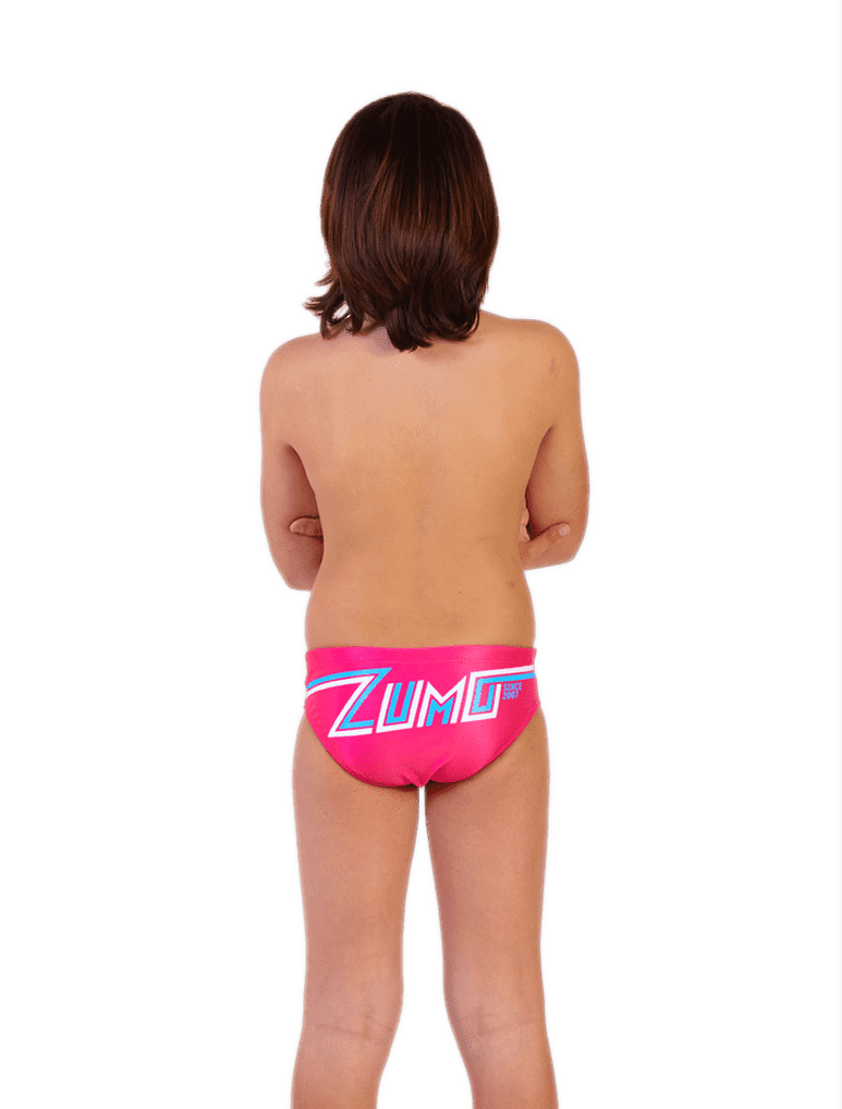 Flash Logo Boy's Original ZUMO Grapefruit Back