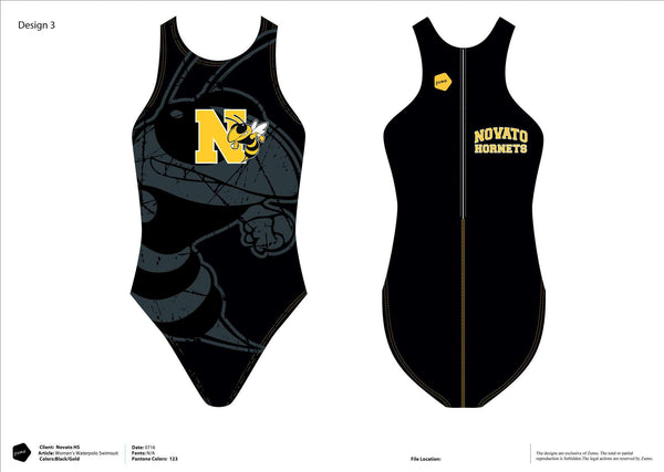 Novato High School Women's Classic Water Polo Suit