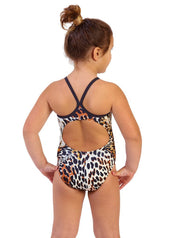 Leopard Girl's Flyback Back