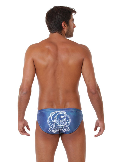 Mariner Original ZUMO Mens Swimwear Brief-Back