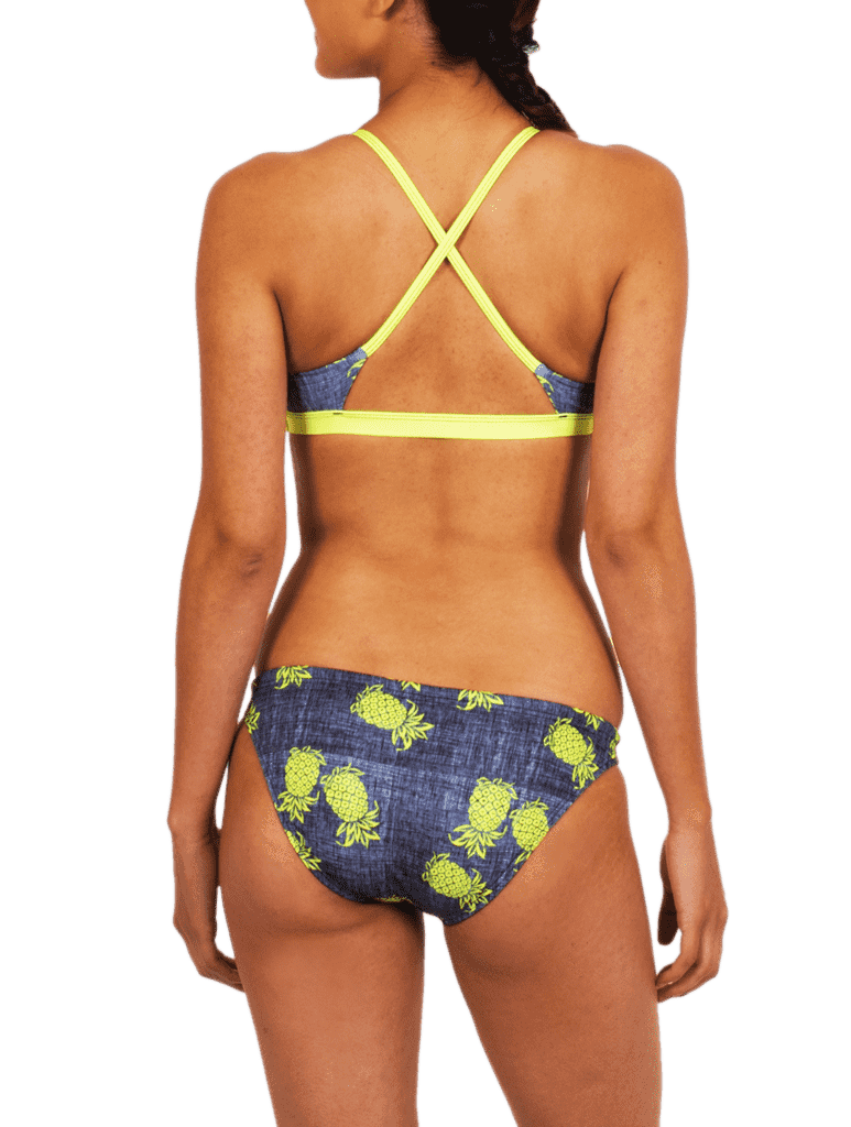 Pineapple Express Bikini Twist Top Back