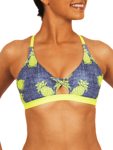 Pineapple Express Bikini Twist Top