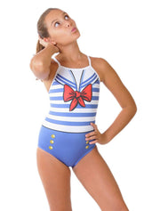 Sailorette Girl's Flyback Front