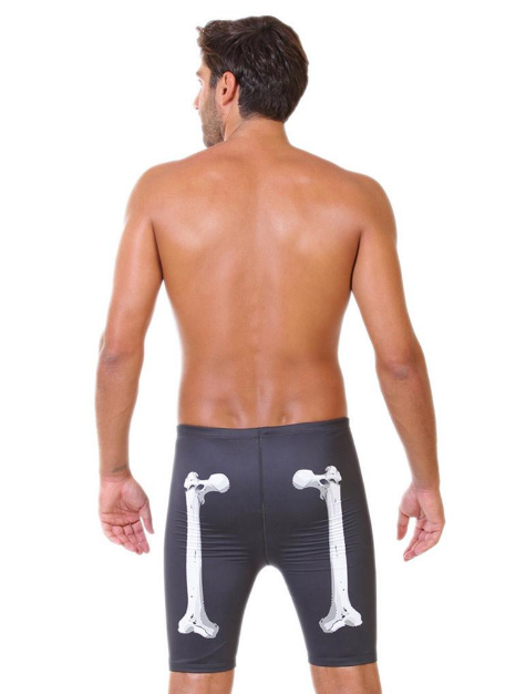 X-Ray Men's Swim Jammers-Back