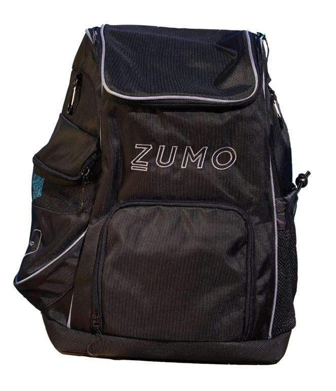 ZUMO Team Backpack Black Front
