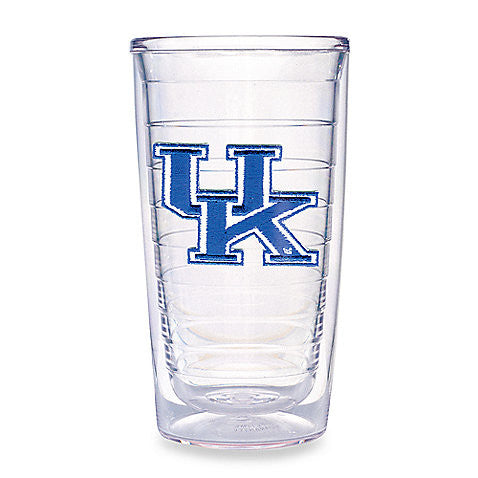 UK Tervis Clear 16 OZ. Tumbler With Lid