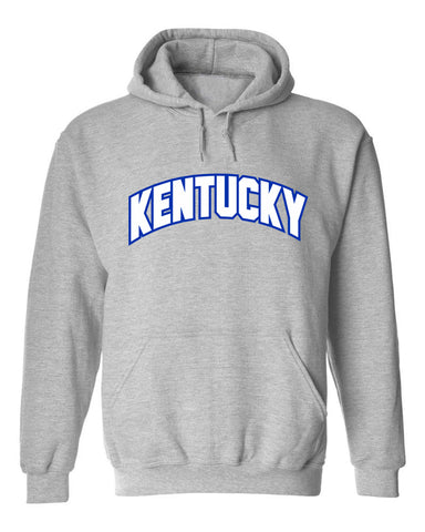 JCS Gray Arch Kentucky State Pride Hooded Sweatshirt