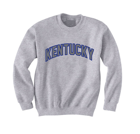 JCS Athletic Gray Crew Neck Kentucky Sweatshirt