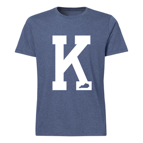 Kentucky Heather Blue State Pride K Tee Shirt