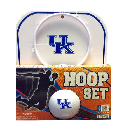UK Basketball Hoop Set
