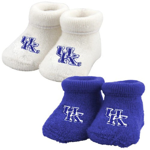 UK Infant Royal or White Booties
